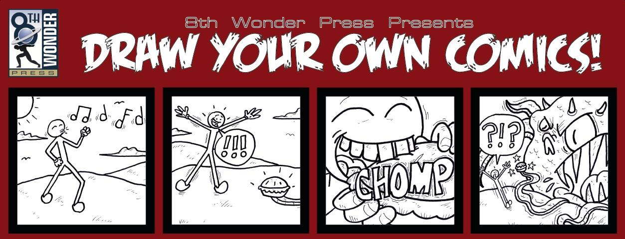 draw your own comics 8th wonder press