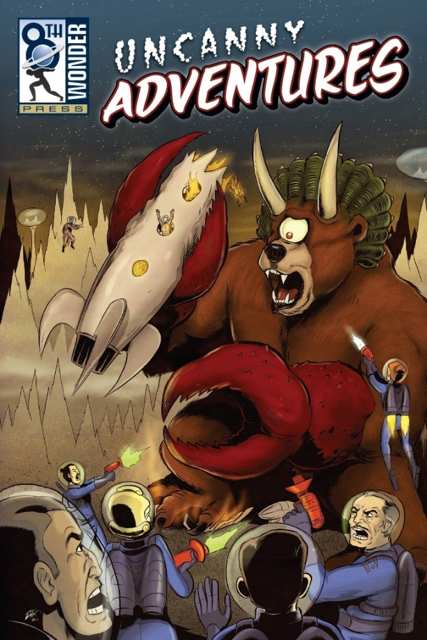 Uncanny Adventures Front Cover