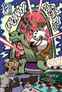 Uncanny Adventures - Science vs Mad Science Front Cover