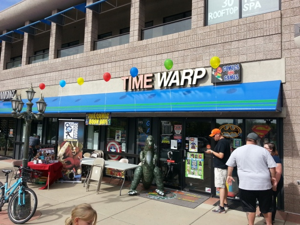 FCBD2015 - Time Warp Comics